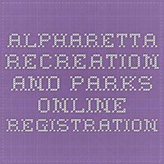 Alpharetta Recreation and Parks Online Registration