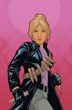 Buffy the Vampire Slayer Season 9 #25 cover by Phil Noto