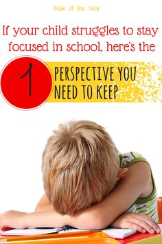 Even in the best school systems, it can be so challenging for a child who doesn't fit the perfect learning mold and has trouble completing classroom or homework assignments. If your child has ever struggled with attention disorders or staying focusing, you'll want to read this honest look at one momma's heart in working through challenges. Take encouragement in the truths here--you aren't alone!