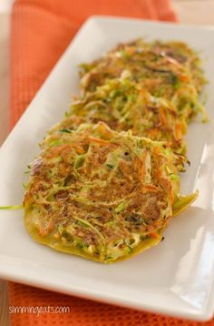 Paleo Vegetable Fritters - Dairy Free, Gluten Free, Slimming World, Weight Watchers, Paleo and Whole30 Friendly