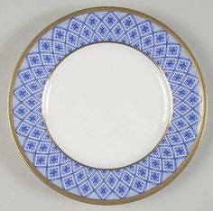 bread & butter plate, Waterford: Fitzpatrick Blue