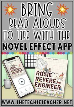 Reading classroom - Bring Read Alouds to Life with the Novel Effect App – Reading classroom Teaching Technology, Educational Technology, Technology Lessons, Technology Humor, Teaching Biology, Business Technology, Teaching Art, Teaching Computers, Teaching Resources