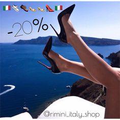 Big Sale На всю обувь -20% скидка Made in Italy Grand Park Rimini #grandparkalmaty #rimini #italy #shoes #almaty by rimini_italy_shop