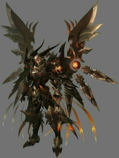 Game characters of the original painting _ Baidu Image Search Search Results Dragon Armor, Dragon Knight, Knight Armor, Fantasy Character Design, Character Concept, Character Art, Fantasy Armor, Dark Fantasy Art, Armor Concept