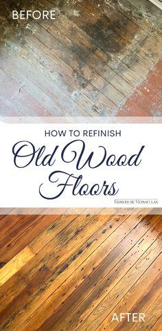 Refinish Hardwood Floors Diy, Wood Floors In Kitchen, Sanding Wood Floors, Hardwood Floor Repair, Polyurethane Floors, Pine Wood Flooring, Old Wood Floors, Rustic Wood Floors, Cleaning Wood Floors