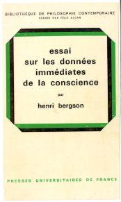 Henri Bergson, Essai sur les données immédiates de la conscience