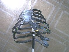 Picture of How to Make Zombies Out of Junk Zombie Halloween Decorations, Hallowen Ideas, Halloween Zombie, Halloween Haunted Houses, Outdoor Halloween, Halloween Skeletons, Holidays Halloween, Halloween Themes, Halloween Crafts