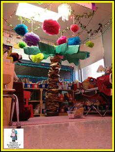 Kindergarten reading area!  Smedley's Smorgasboard of Kindergarten: Happy 60th Birthday!