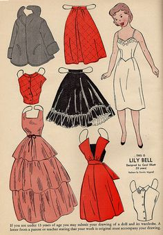 Wee Wisdom paper dolls | Lily Bell | Flickr - Photo Sharing! * 1500 free paper dolls Christmas gifts artist Arielle Gabriels The International Paper Doll Society also free paper dolls The China Adventures of Arielle Gabriel *