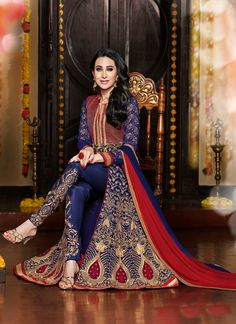STRIKING NAVY BLUE COLOURED SEMI STITCHED ANARKALI Please Visit Below Link, http://www.satrani.com/striking-navy-blue-coloured-semi-stitched-anarkali-4916?filter_name=261d For more queries, email id: inquiry@satrani.com Contact no.: 09737746888(whats app available)