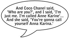Anna Karina quote