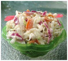 Le palais gourmand: Salade de choux crémeuse
