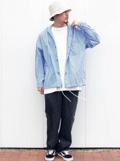 ︎ ■GLOSTER  シェフパンツ■ 色違いでゲット🥰 やっぱシェフパンツ楽だわ✔︎ ▼サイズ Denim, How To Wear, Jackets, Fashion, Down Jackets, Moda, Fashion Styles, Jacket, Fashion Illustrations
