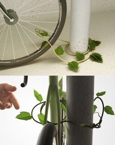 Ivy bike lock concept by Sono Mocci
