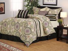 7 Piece Queen Cosmo Comforter Set