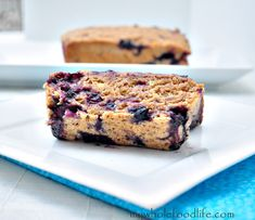 Spelt Blueberry Bread.  This would be great for a brunch or Sunday breakfast.  One of my most popular recipes and everyone loves it!