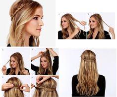 Мастер-класс: 3 прически для длинных волос