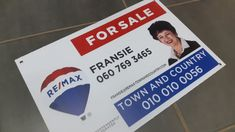 Correx boards printed in full colour. Ideal for estate agent for sale boards or advertising boards. Cheap Advertising, Advertising Signs, Event Signage, Outdoor Signage, Corrugated Plastic Signs, Photo Direct, Real Estate Signs, Clip Frame, Name Stickers