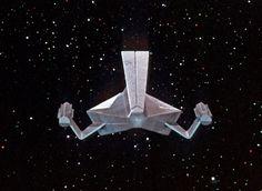 """Redressed Tholian ship for """"Way to Eden"""" Star Trek 1966, Star Trek Tos, Alien Figure, Uss Enterprise Ncc 1701, Starfleet Ships, Star Trek Images, Star Trek Original Series, Sci Fi Models, Star Trek Starships"""