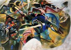 Wassily Kandinsky - Pintura con borde blanco