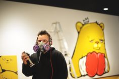 Get to know JC Rivera -- the artist behind Bear Champ -- today on chicityfashion.com