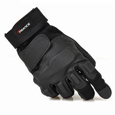 TPRANCE® Reinforced Tactical Gloves Tan PU Leather + Nylon Outdoor/Fahrrad/Shooting/Driving with Adjustable Velcro Tactical Gloves, Tactical Clothing, Tactical Gear, Leather Work Gloves, Pu Leather, Evening Sandals, Men Looks, Outfit, Military