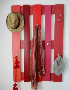 palette garderobe selber machen