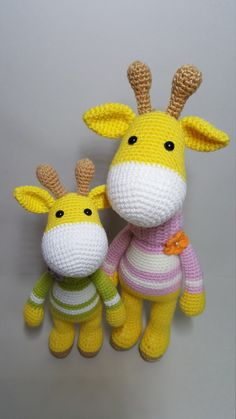This is a crochet pattern PDF and not the finished doll Following this pattern Giraffe will be approximately 24 cm and 30cm. The pattern is available in English Materials Yarn : Hera cotton/6ply (cotton 55%,Acrylic 45%) Marvel/8ply (Acrylic 100%) Colors: