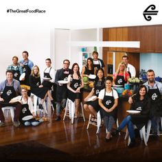 The contestants from The Gr, Great Recipes, Travel Inspiration, Racing, Running, Lace
