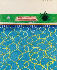 View Drawing of a pool and towel by David Hockney on artnet. Browse upcoming and past auction lots by David Hockney. Kids Art Projects, Ipad Art, David Hockney Paintings, Drawings, Painting, Art, Pop Art Movement, Art Movement, David