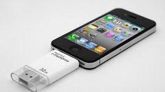 ¿Quieres tener más memoria en el iPhone? PhotoFast presenta un USB que permite almacenar archivos y que se puede utilizar en el terminal de Apple.