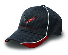 Corvette Hex Pattern Cap