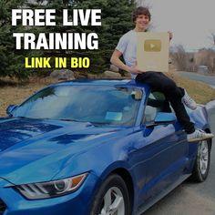 Earn Money Off Youtube Free Webinar Business Motivation, Earn Money, Train, Youtube, Mindset, Instagram, Free, Attitude, Work Motivation