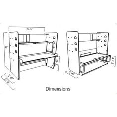 twin single hiddenbed m1 mechanism kit for splendid ritzy slim