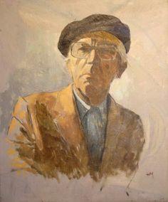 Self portrait -  Kostas Malamos [1913-2007]