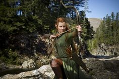 Evangeline Lilly interview for the Hobbit