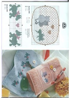 Designs to Decorate Towels • #4 Cats and #5 Dogs
