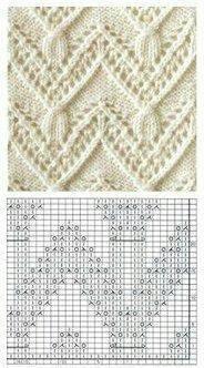 Best Internet Sites Totally Free Newborn Knitting And Crochet Patterns Lace Knitting Stitches, Lace Knitting Patterns, Knitting Charts, Lace Patterns, Easy Knitting, Knitting Designs, Knitting Projects, Stitch Patterns, Kids Knitting