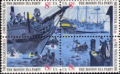 Dec. 16, 1773: The Boston Tea Party took place as American colonists boarded a British ship and dumped more than 300 chests of tea overboard to protest tea taxes