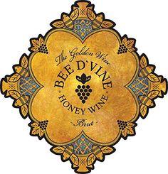 2013 Bee d'Vine Brut Honey Wine (aka Mead or Tej) 375 mL: Springwater & honey, aged 1 year min. Mead Wine, Honey Wine, Gourmet Recipes, Wines, Bee, 1 Year, Dessert Wine, Image Link, Frugal Living