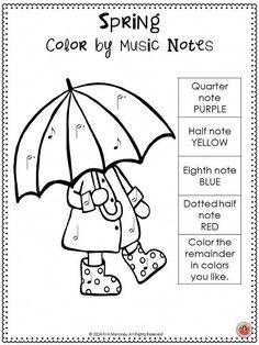 SPRING!  Free music worksheet.! Join the MTR Email Club for monthly freebies!   CLICK trough to read more or RE-PIN for later! Music Games, Music Education Games, Music Activities, Music Lessons For Kids, Music Lesson Plans, Music Worksheets, Partition, Music School, Primary Music