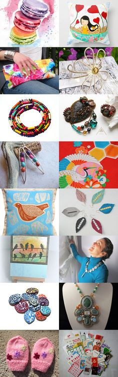 Happy Weekend Finds by Gabbie on Etsy