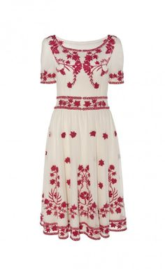 Flared Clover Dress | Designer Dresses | Temperley London