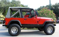 1990 - 6 Cylinder, Manual, 166k Miles - $4,988 http://www.selectjeeps.com/inventory/view/7023712?1990+Jeep+Wrangler+2dr+Base+League+City+TX