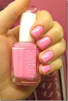 Essie Pink Nail Polish    www.linerglittergloss.com