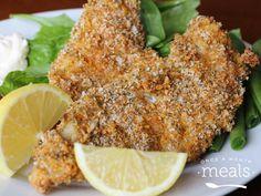 Crunchy Breaded Fish Fillets