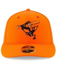 New Era Baltimore Orioles Little League Classic Low Profile 59FIFTY Fitted Cap - Orange 7 1/4