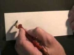 John DeCollibus:  Different Styles of Pointed Pen Scripts