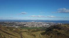 Arthur's Seat, Edinburgh  🌄