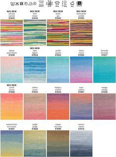 Schachenmayr Tahiti - Baumwoll-Lacegarn mit tollem langen Farbverlauf
